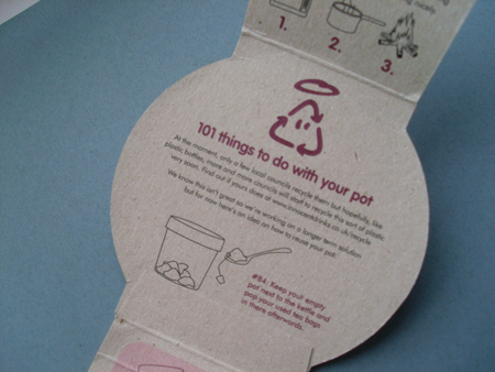 Innocent packaging recycling