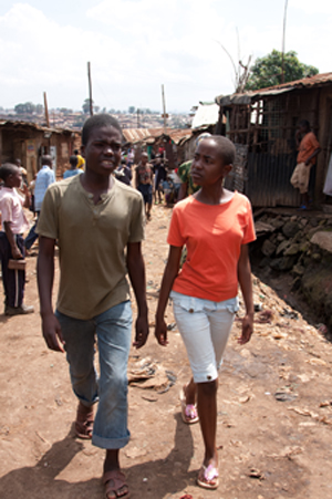 SOUL BOY Abi and Shiku walk