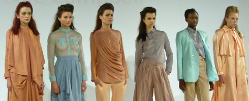 Collection from Kingston University Graduate Fashion Week 2011