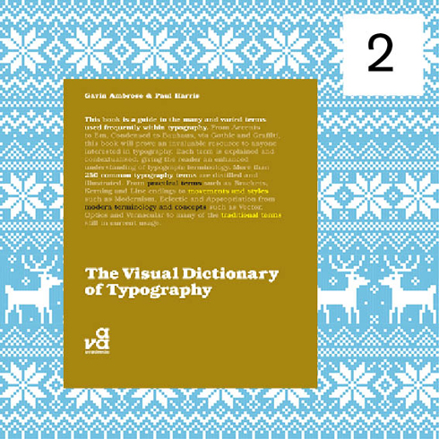Advent book giveaway Visual Dictionary of Typography