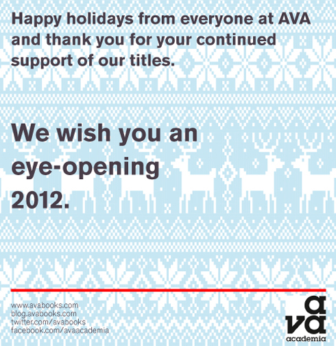 Happy holiday message from the AVA blog