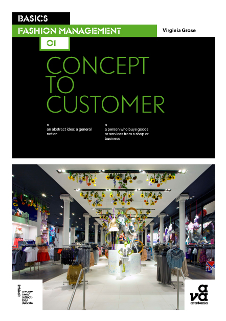 Basics Fashion Management Concept to Customer book cover