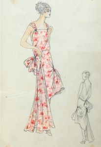 Evening Dress, Paquin Archive