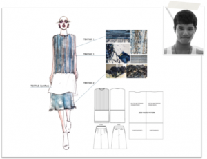 Alex Law, Hong Kong   In one word ... Your style: Minimalism Your inspiration: Denim pollution Work: http://www.ecochicdesignaward.com/%E7%BE%85%E9%8C%A6%E5%AE%89-alex-law/   Why should others enter? Favourite stage of the competition: The Grand Final Fashion Show Greatest Challenge: To balance sustainability and commerciality in my designs Biggest surprise: The other finalist's designs are amazing! Moment to remember: The fashion show and every moment I spent with the other finalists.