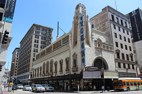 The Tower Theater on Broadway, Los Angeles (photo by Yana Stoimenova)