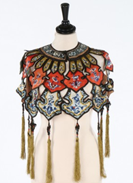 Kerry Taylor Chinese collar