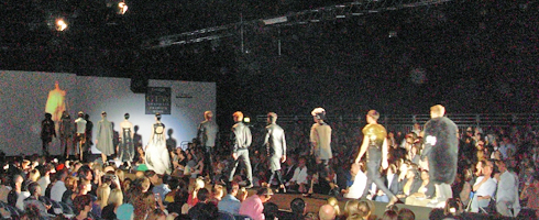 Northumbria Fashion show GFW 2011