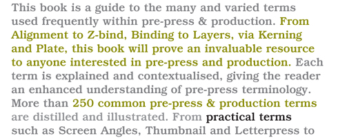 Cover of The Visual Dictionary of Pre-press and Production by Ambrose and Harris
